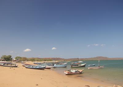 Bateaux de pêche côtière, Madagascar